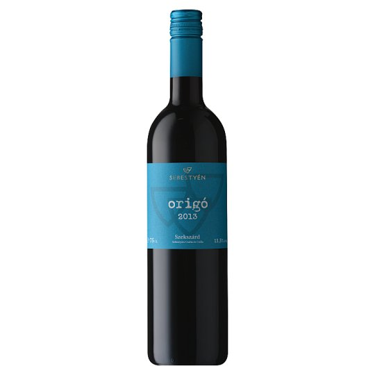 Sebestyén Origo Cuvée Dry Red Wine 13% 0,75 l