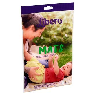 Libero Disposable Changing Mats 6 pcs