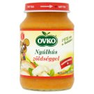Ovko Gluten- and Dairy-Free Rabbit with Vegetables Baby Food 5+ Months 190 g