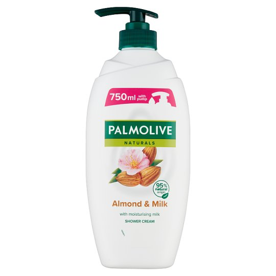 Palmolive Naturals Almond & Milk tusfürdő mandula kivonattal és hidratáló tejjel 750 ml