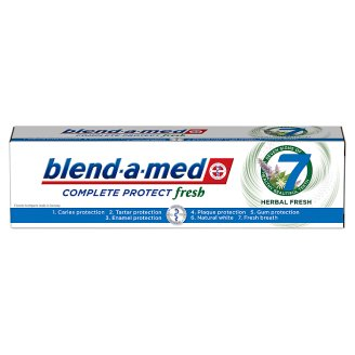 Blend-a-med Complete Protect 7 Herbal Fresh Fogkrém, 100 ml