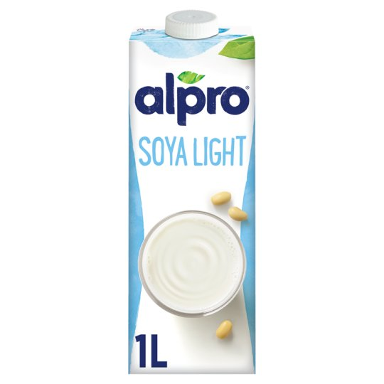 Alpro Soya Light Reduced Calorie Soya Drink with Added Calcium and Vitamins 1 l