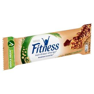 Nestlé Fitness Delice tejcsokoládés mogyoróízű gabonapehely-szelet 22,5 g