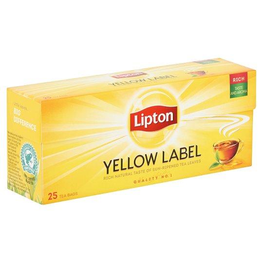 Lipton Yellow Label ízesített fekete tea 25 filter