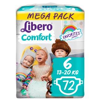 Libero Comfort 6 13-20 kg Premium Nappies 72 pcs