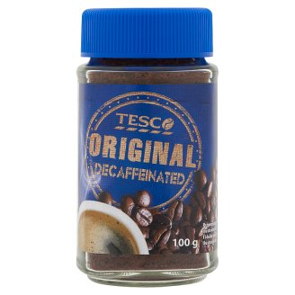 Tesco Original koffeinmentes azonnal oldódó kávégranulátum 100 g