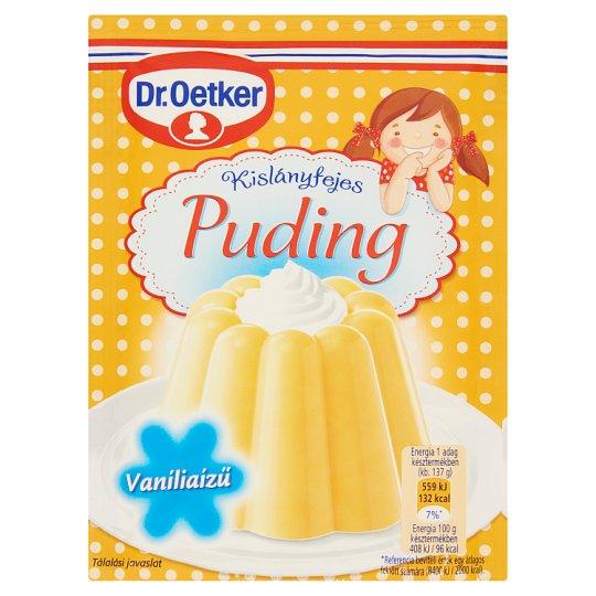 Dr. Oetker Kislányfejes Puding vaníliaízű pudingpor 40 g