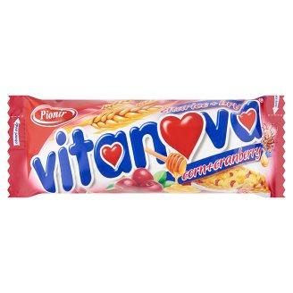 Vitanova müzliszelet áfonyával, mézzel és fehér csokoládéval 25 g