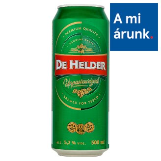 De Helder Unpasteurized Lager Beer 5,7% 500 ml
