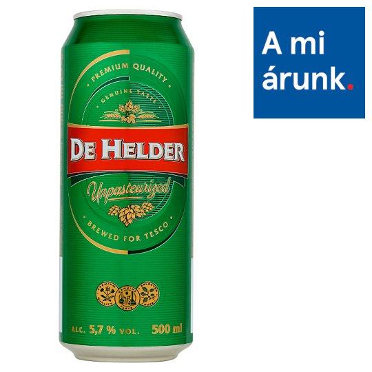 De Helder Unpasteurized világos sör 5,7% 500 ml