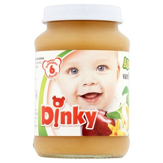 Dinky Gluten and Dairy-Free Apple with Vanilla Baby Dessert 6+ Months 190 g