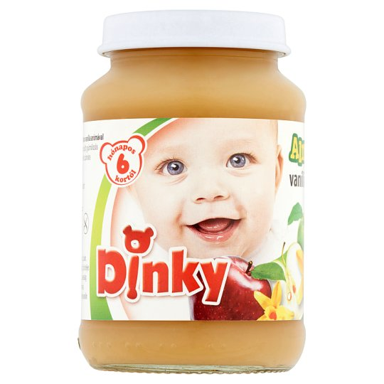 Dinky Apple with Vanilla Flavor Baby Dessert 6+ Months 190 g