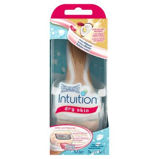Wilkinson Sword Intuition Dry Skin Razor with 4 Blades