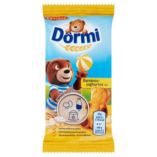 Dörmi Soft Sponge Cake Filled with Banana-Yoghurt Flavoured Cream 30 g