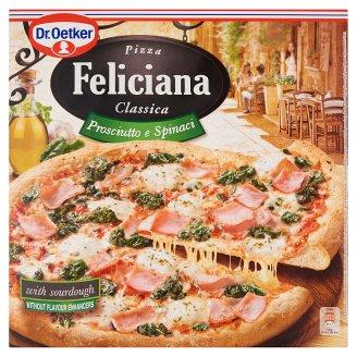 Dr. Oetker Feliciana gyorsfagyasztott pizza sonkával és spenóttal 350 g