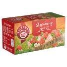 Teekanne World of Fruits Strawberry Sunrise Strawberry Flavoured Fruit Tea Blend 20 Tea Bags 50 g