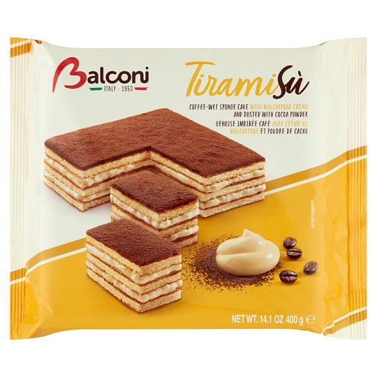 Balconi Tiramisú Oven-Baked Confectionary Product 400 g