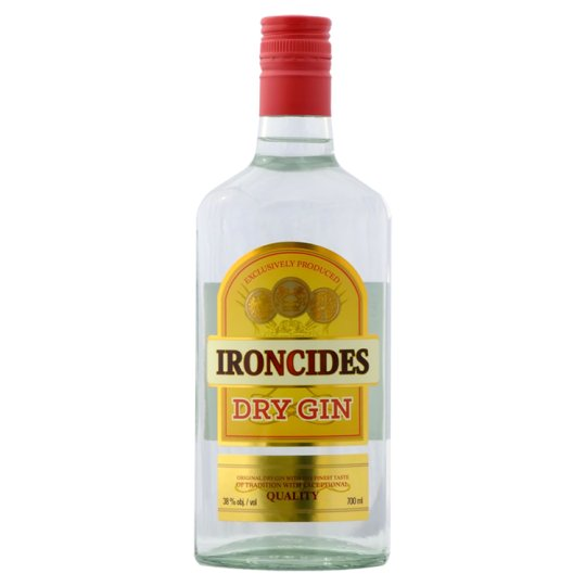 Ironcides Dry Gin 38% 700 ml