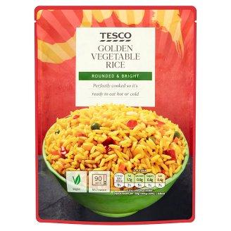Tesco főtt hosszúszemű rizs vegyes zöldségekkel 250 g