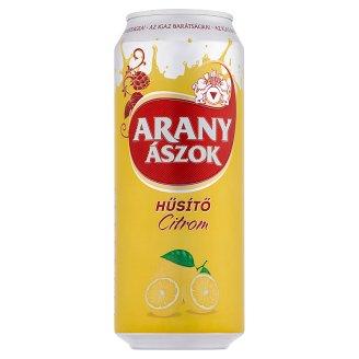 Arany Ászok Hűsítő Lemon Drink and Lager Beer Mixture 2% 0,5 l