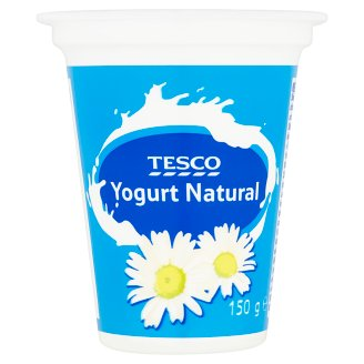 Tesco Unflavoured Yogurt 150 g