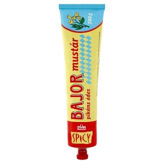 Haas Spicy bajor pikáns édes mustár 200 g