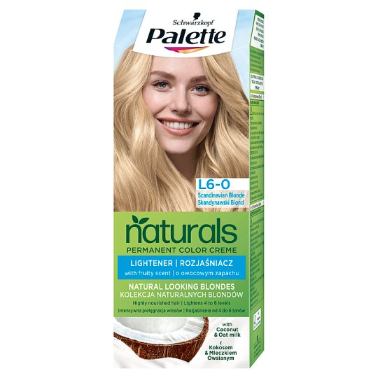 Schwarzkopf Palette Permanent Naturals Color Creme Hair Colorant 0-00 Scandinavian Blonde (100)