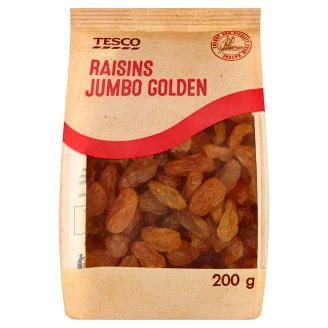 Tesco Jumbo Golden Raisins 200 g
