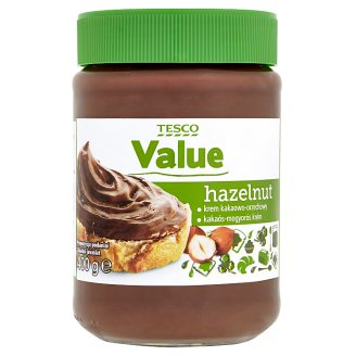 Tesco Value kakaós-mogyorós kenhető krém 400 g