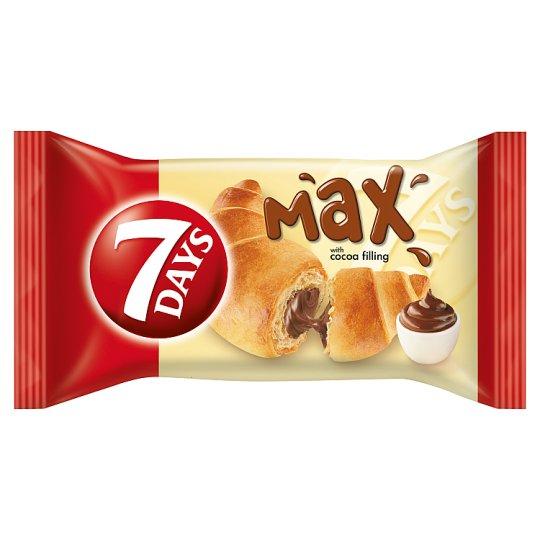 7DAYS Max croissant kakaós töltelékkel 80 g