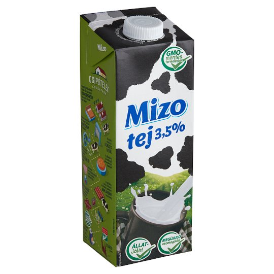 Mizo UHT Whole Milk 3,5% 1 l