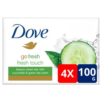 Dove Go Fresh Fresh Touch Beauty Cream Bar 4 x 100 g