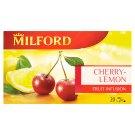 Milford cseresznye-citrom ízű gyümölcstea 20 filter 50 g
