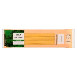 Tesco Spaghetti Durum Dried Pasta 500 g