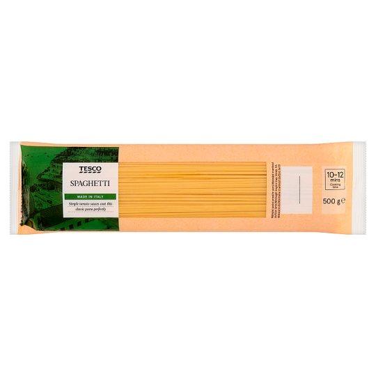 Tesco Spaghetti Durum Dried Pasta 500 g