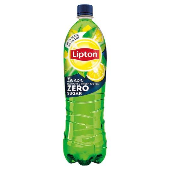 Lipton Green Ice Tea Zero Energy-Free Lemon Flavoured Non-Carbonated Drink with Sweeteners 500 ml