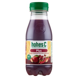 Hohes C Plus+ Iron 100% Apple-Pomegranate-Rapsberry Mixed Fruit-Vegetable Juice 0,25 l