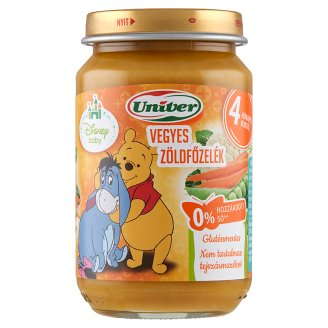 Univer Mixed Vegetable Dish Vegetable Puree for The Baby 4+ Months 163 g