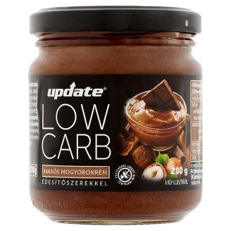 Update Low Carb kakaós mogyorókrém édesítőszerekkel 200 g