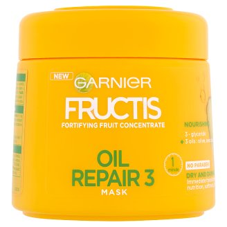 image 1 of Garnier Fructis Oil Repair 3 Fortifying Hair Mask 300 ml
