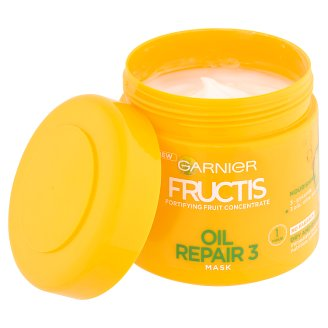 image 2 of Garnier Fructis Oil Repair 3 Fortifying Hair Mask 300 ml