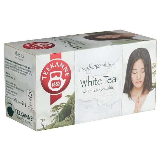 Teekanne White Tea 20 Tea Bags 25 g