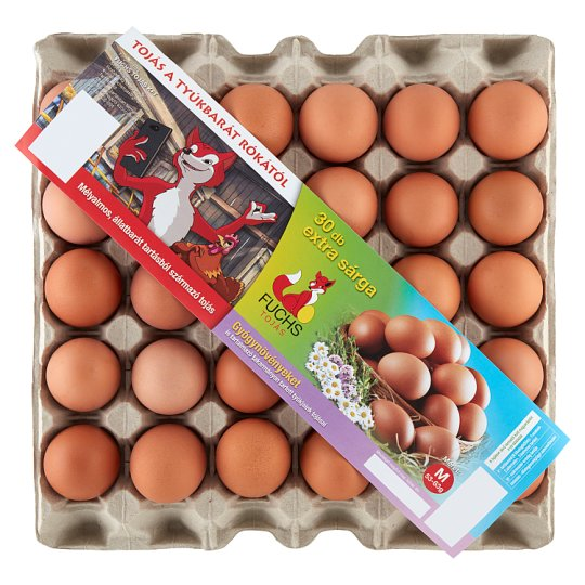 Fuchs Eggs M 30 pcs