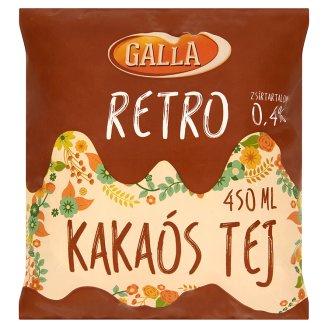 Galla Retro kakaós tej 450 ml