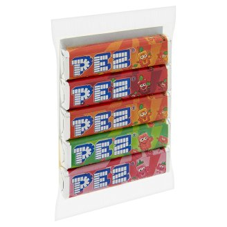 Pez Fruit Mix Unfilled Hard Candies 5 x 8,5 g