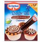 Dr. Oetker Dekor Toll csokoládé- és karamellízű cukormáz 4 x 19 g