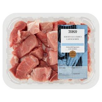 Tesco friss sertés gulyáshús 20% zsírtartalommal 0,500 kg
