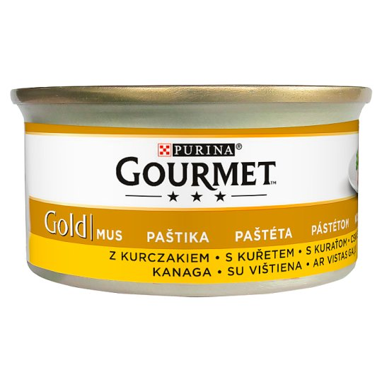 Gourmet Gold Complete Pet Food for Adult Cats with Chicken 85 g