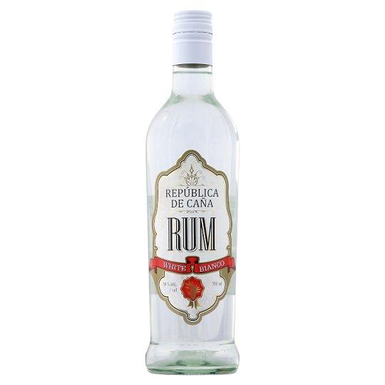 República de Caña White Rum 38% 700 ml