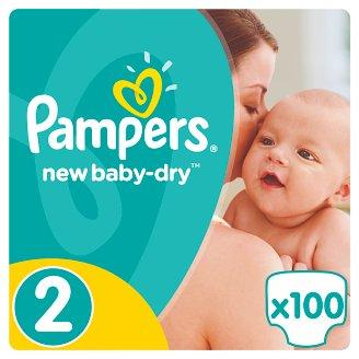 Pampers New Baby-Dry Pelenka 2-es Méret (Mini), 100 Darabos Kiszerelés